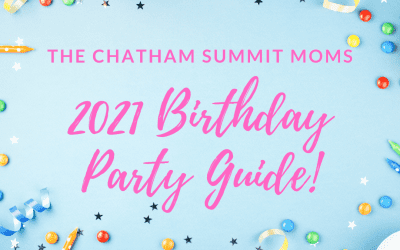 The 2021 Birthday Party Guide!